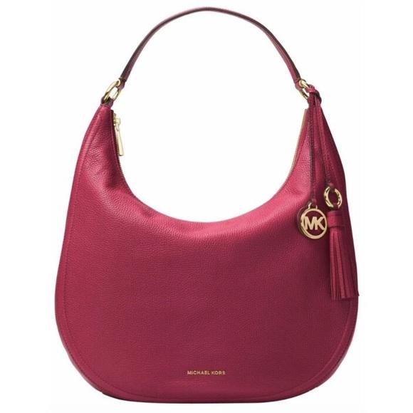 b0c1de4def9c Michael Kors Bags   Micheal Kors Lydia Large Hobo Shoulder Bag ...